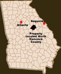 Location in Georgia